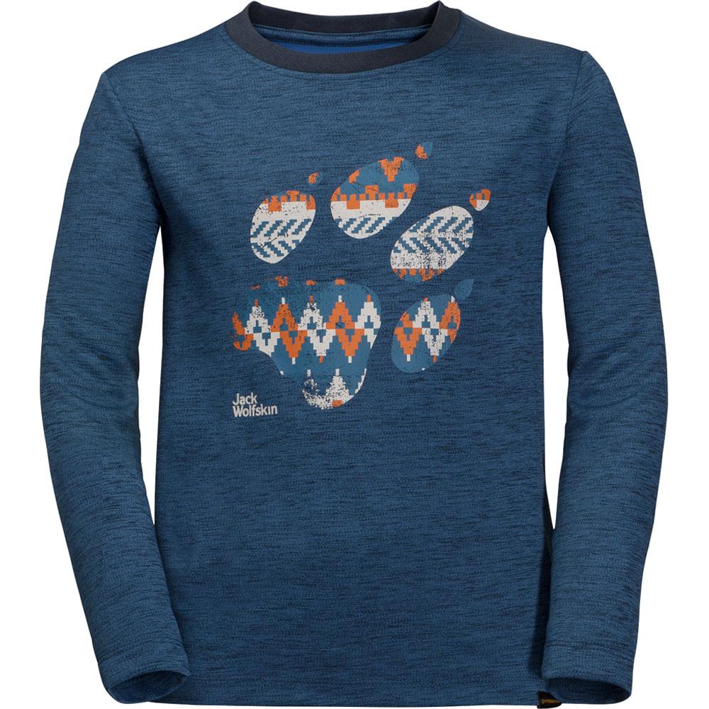 e3be2cfb749e Jack Wolfskin Boys   Girls Vargen Lightweight Long Sleeve T Shirt