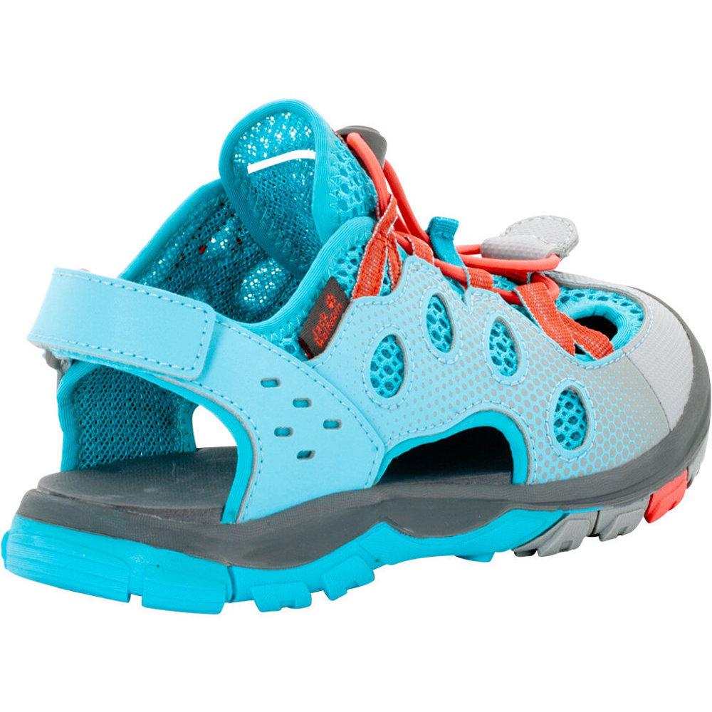 Jack Wolfskin Boys & Girls Titicaca Low Velcro Mesh Walking Sandals wEUgH