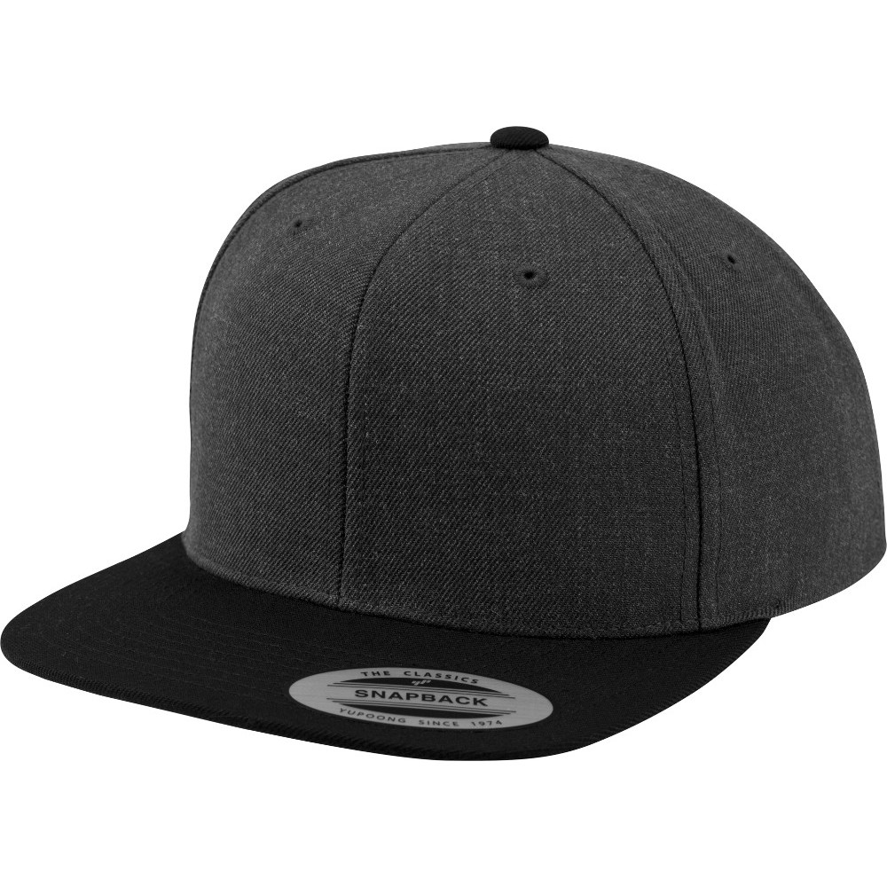 463a7283 Details about Flexfit by Yupoong Mens Classic 2-Tone Premium Wool Snapback  Cap
