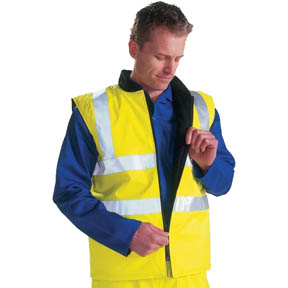 High Vis Bodywarmer