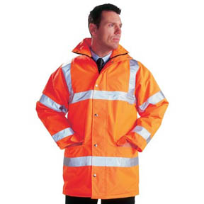 High Vis Railway Clothing