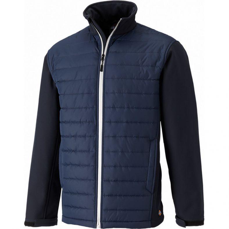 Dickies Mens Loudon Padded Adjustable Shaped Polyester Fleece Jacket