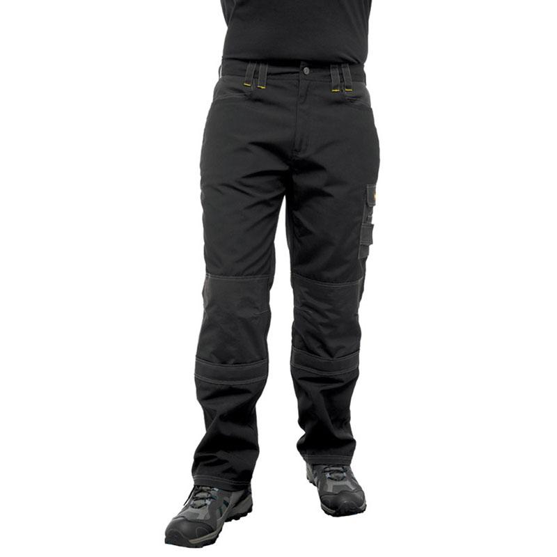 Clothing & Accessories|Clothing|Trousers & Shorts Regatta Mens Hardwear Holster Workwear Kneepad Trousers Black  Iron