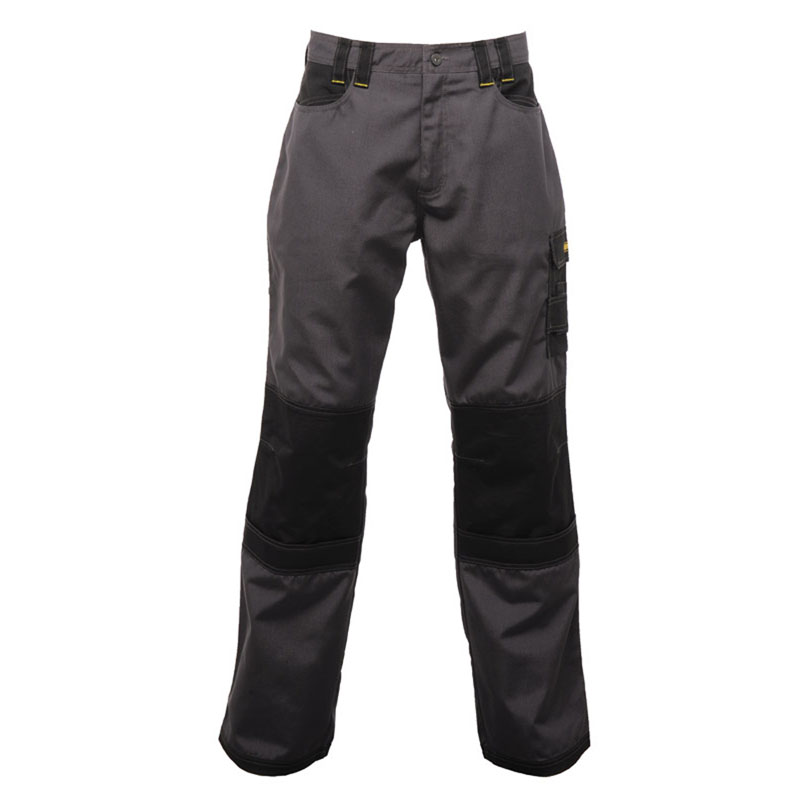 Clothing & Accessories|Clothing|Trousers & Shorts Regatta Mens Hardwear Holster Workwear Kneepad Trousers Black  Iron